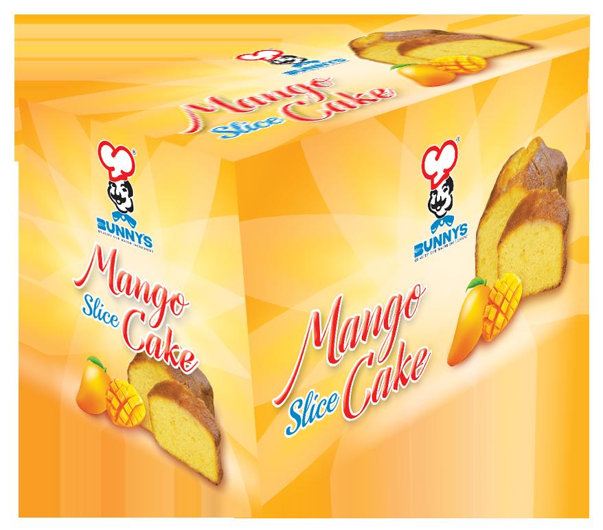 Mango Slice Cake